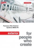 Systèmes ME05 FR – Fixations invisibles – Pose sur rails aluminium