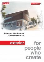 Systèmes ME06 FR – Fixations invisibles – Pose sur plateaux métalliques