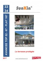 Catalogue SunKin® – Avancées de Terrasse