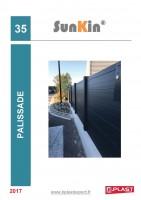 Catalogue SunKin® – Palissade