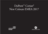 CORIAN -NOUVELLES COULEURS 2017