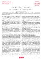 Dupont CORIAN Entretien